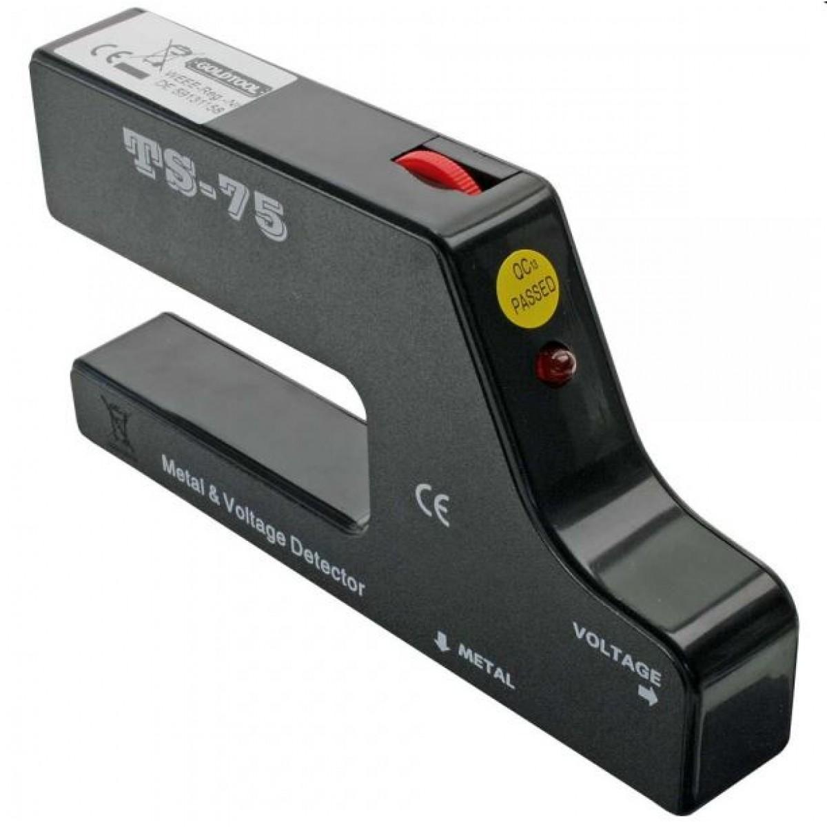 multidetektor-2in1 für metall und spannung | elektronik für jedermann