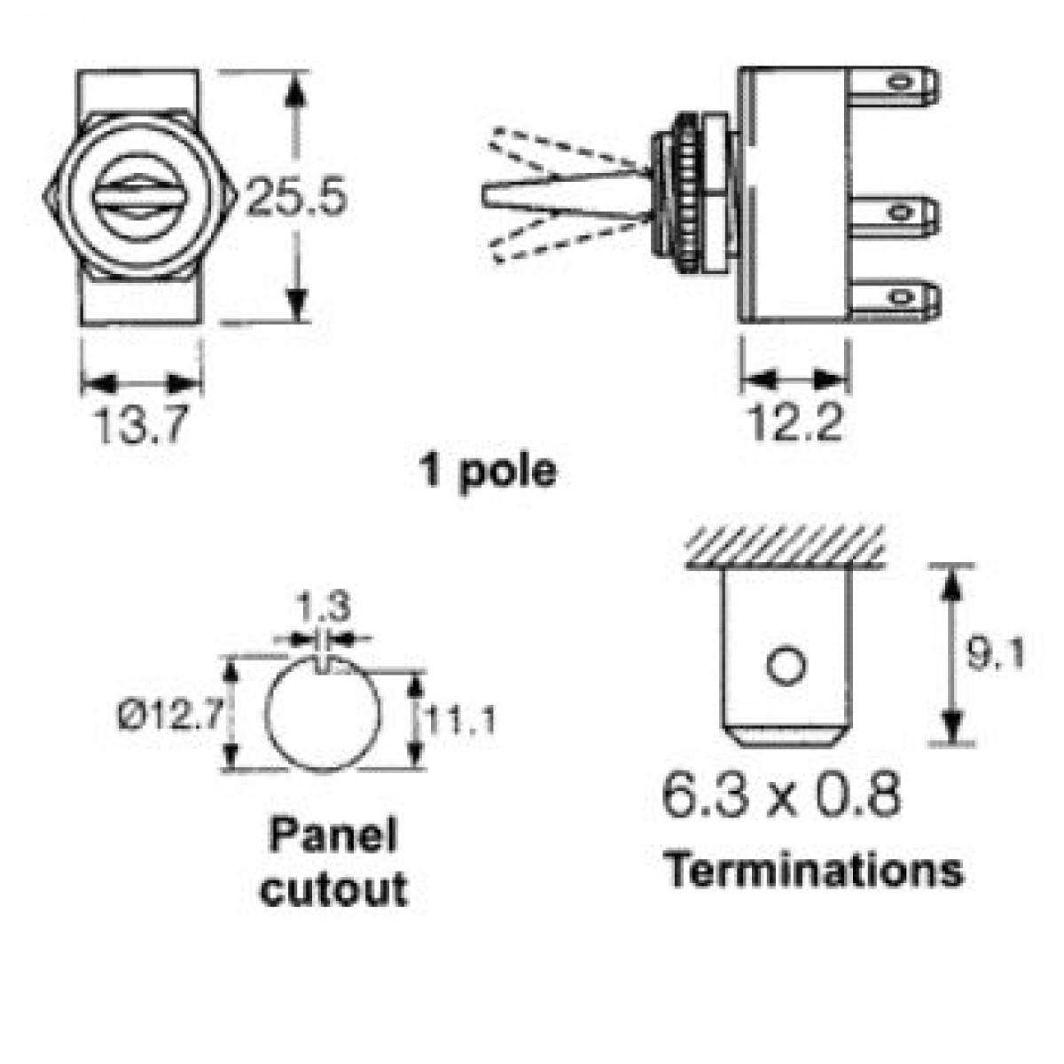 Berühmt 4 Poliger Einpoliger Schalter Fotos - Elektrische Schaltplan ...