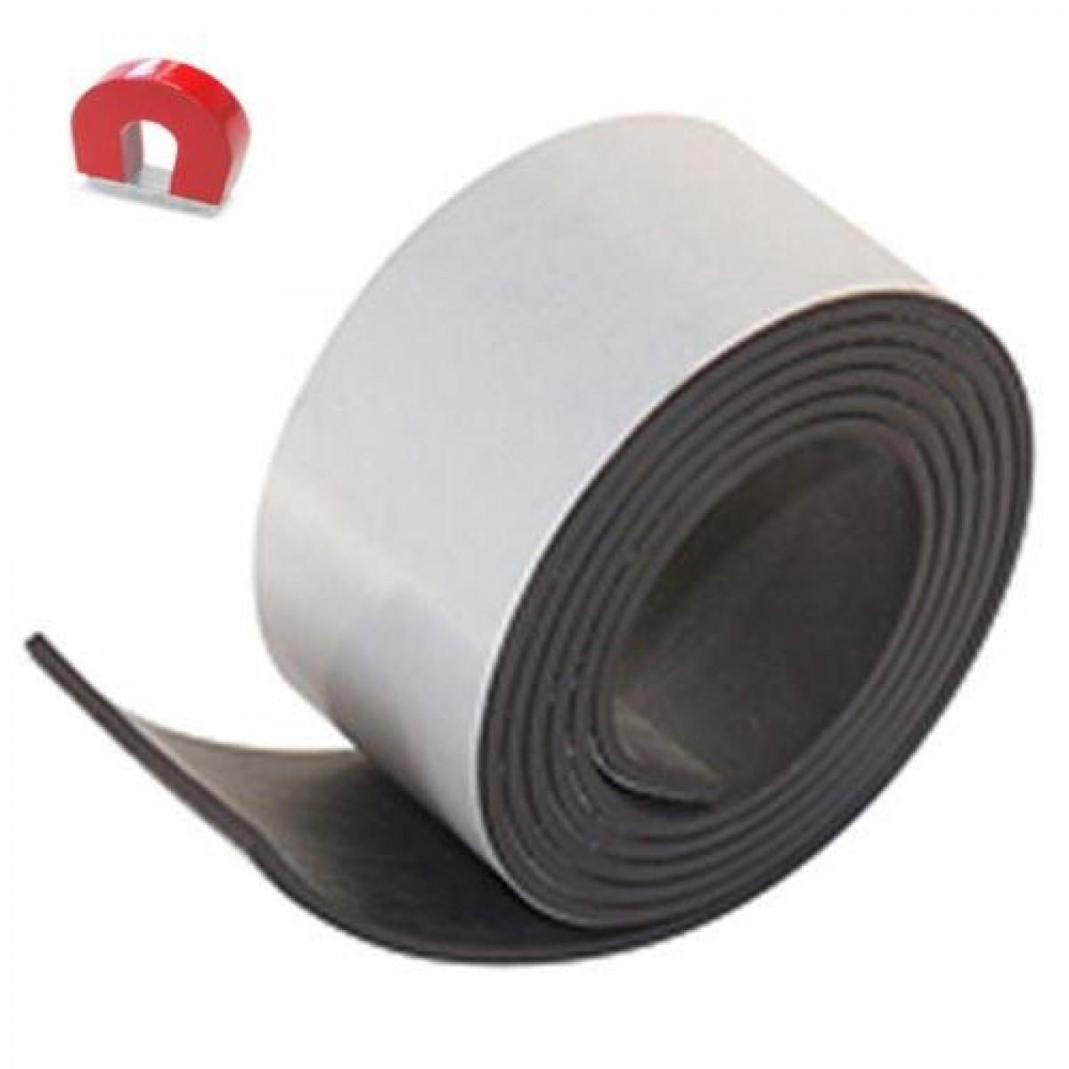 magnetband magnetischer klebestreifen 750x25mm. Black Bedroom Furniture Sets. Home Design Ideas