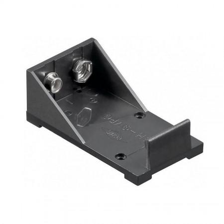Batteriehalter 1x9V-Block Druckknopf Lötanschluss