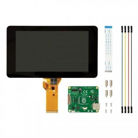 offizielles Raspberry Pi 7 Display mit kapazitiven Touchscreen