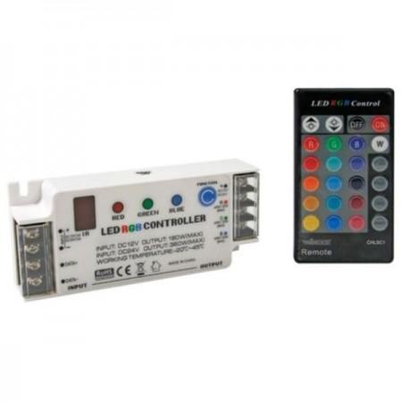Velleman® CHLSC1 RGB LED-Controller mit Fernbedienung