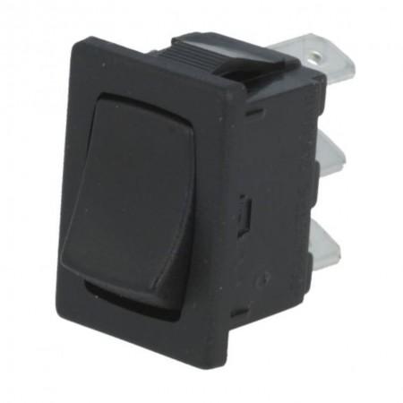 Wippenschalter 2-stellig SPDT ON-ON 10A/250VAC 10A/28VDC schwarz