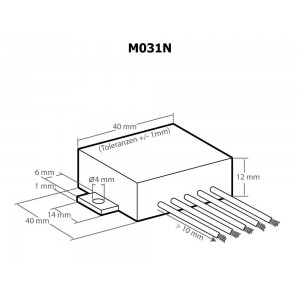 Kemo M031N Verstärker-Modul universal 3,5 W