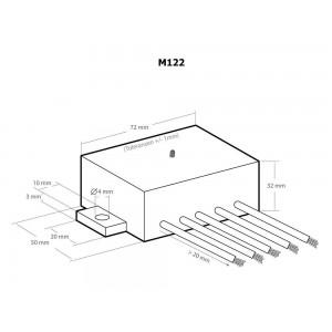 Kemo M122 Dämmerungsschalter 12 V/DC Modul