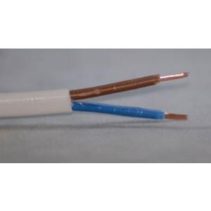 PVC-Schlauchleitung 2x0,75mm² Meterware