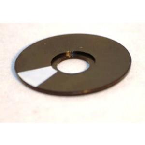 Kontrastscheibe rund Ø 21mm für Spannzangen-Drehknöpfe