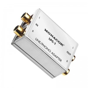 Monacor® LPC-1 Line-Phono-Adapter