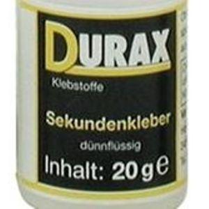 DURAX Sekundenkleber-20g dünnflüssig