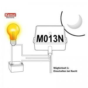 Kemo® M013N Dämmerungsschalter 240V