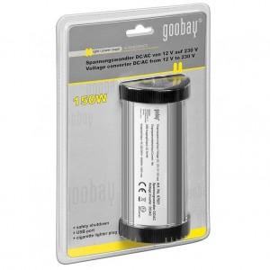 Goobay KFZ-Spannungswandler DC/AC 12V/230V USB 1200mA
