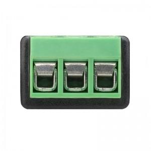 Goobay® Terminal Block 3-pin auf Klinke 3,5 mm Buchse