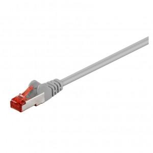 CAT6 Netzwerkkabel 0,25m S/FTP 2xRJ45 PIMF doppelt geschirmt