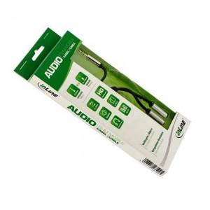 Slim Audio Y-Kabel Klinke 3,5mm ST an 2x Klinke BU, 0,15m