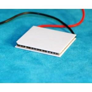 Peltier-Modul 89W 15,8V 10,5A 67°C 40x40x3,3mm