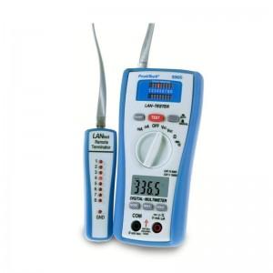 PeakTech® 3365 Digitalmultimeter ~ 2.000 Counts ~ 600V AC/DC ~ 200mA AC/DC - mit LAN - Tester