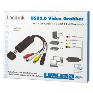 LogiLink® USB 2.0 Audio und Video Grabber