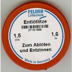 Felder Lotsauglitze 1,5mm