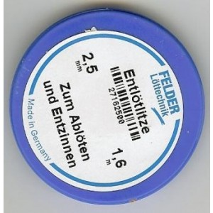 Felder Lotsauglitze 2,5mm