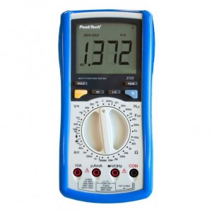 PeakTech® 3725 Digitalmultimeter ~ 2.000 Counts ~ mit LCR-Meter ~ 2000MΩ ~ 100µF ~ 20H