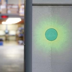 Velleman® HAA40G Blitzlicht grün 12VDC 150mA, Ø70mm, IP44