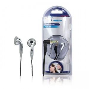 HQ In-Ear-Ohrhörer 105dB 32Ω 3,5mm stereo silber
