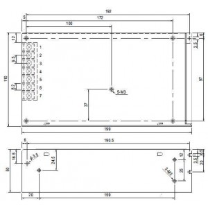 Mean Well S-150-5 Schaltnetzteil 150W 5V 30A