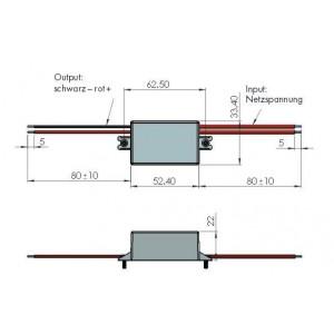 H-Tronic SP-12-401 A AC/DC-Printnetzteil 12 V/DC 0.4 A 4.8W