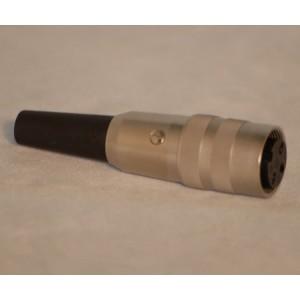 KV30M Kupplung 3-polig DIN 45321 Schraubverschluss