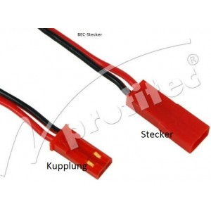 BEC-Verbindungskabel Stecker 15cm