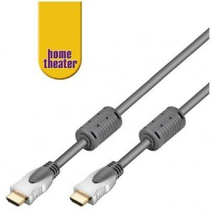 High Speed HDMI™ Kabel Ethernet 0,75m