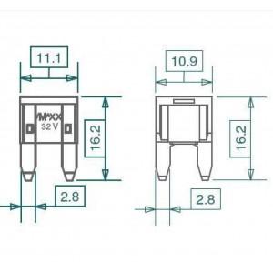Miniatur-KFZ-Sicherungen bei mükra electronic