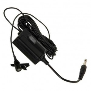 Electret-Krawatten-Mikrofon mit kräftiger Klemmbefestigung