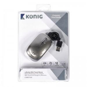 König CSMST100 mini USB Notebook Mouse