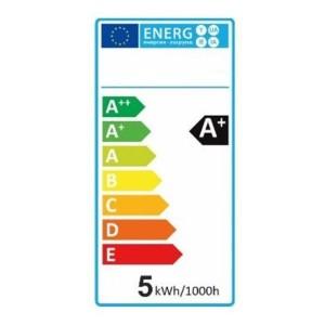 "LED Kerzenlampe E14 ""K50"" weiß 6000k, 420lm, 230V/5W"