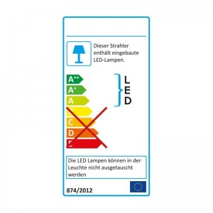 Alu-LED-Leiste 30-SMD-LEDs 120° IP65 50cm
