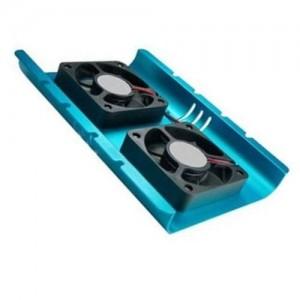 Spire® HD05010B1M4 Festplattenkühler mit 2 Lüftern