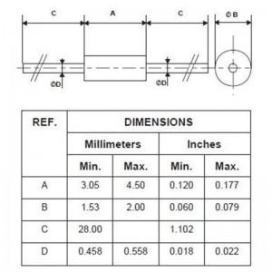 STMicroelectronics BAT42 Schottky-Diode