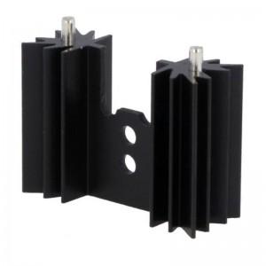 Profilkühlkörper 12,6K/W 35x25,4x12,7mm schwarz
