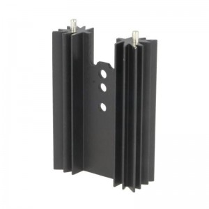 Profilkühlkörper 9,1K/W 35x50,8x12,7mm schwarz