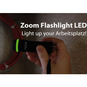 HyCell Zoom-Flashlight 1W-LED Taschenlampe