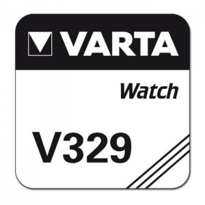 Varta SR731 (V329) Silberoxid-Zink-Knopfzelle, 1,55 V Uhrenbatterie