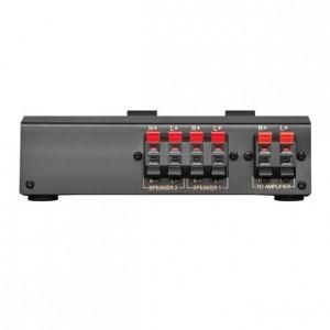 Lautsprecher-Umschaltbox für bis zu 2 Lautsprecherpaaren