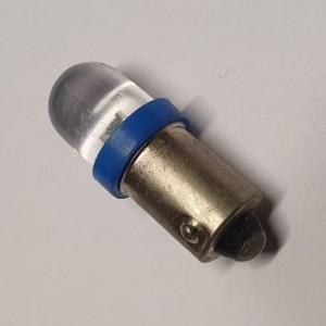 LED-BA9S T4W Konkav 12V blau