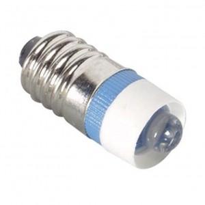 LED-Schraubsockel Birne blau E10 12V