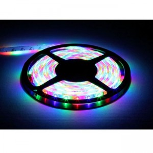 EGB LED RGB Stripe-Set 24W mit Mini-Steuerbox