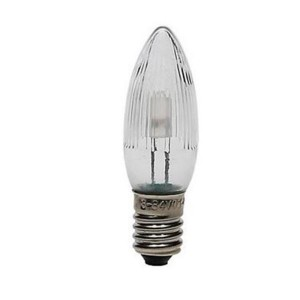 LED-Topkerze 3er-Blister warmweiss E10 8-55V 0,1-0,2W