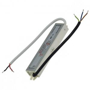LED-Transformator 230VAC 12VDC 20W 1,67A wasserdicht