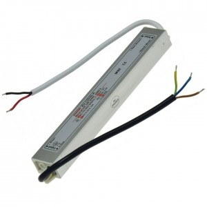 LED-Transformator 230VAC 12VDC 20W 2;5A IP67