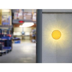 LED Blitzlicht gelb 12VDC, Ø77mm, IP20